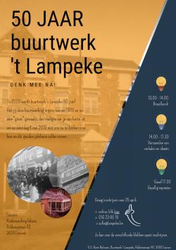 Denk mee na over 50 jaar Buurtwerk 't Lampeke