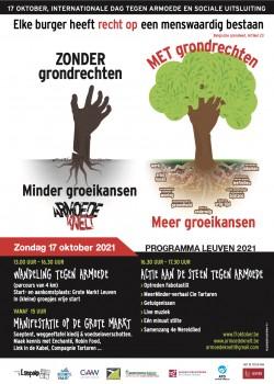 17 oktober: internationale dag tegen armoede en sociale uitsluiting