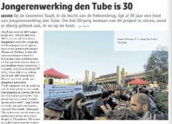 30 jaar Tube: een groot feest