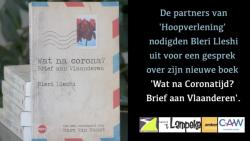 Boekgesprek over 'Wat na Corona? Brief aan Vlaanderen'