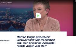 Martine Tanghe over Dylan in het jaaroverzicht 2020