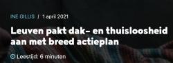 Leuvens actieplan dak- en thuisloosheid